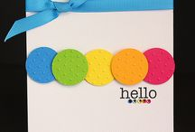 Crafts - Embossed cards