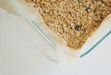 Breakfast-Oatmeal, granola, fruit crisp
