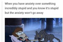 Anxiety Humor / We need to laugh a litle so why not laugh about anxiety. Find the joy.