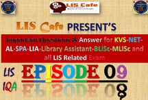 LIS Cafe : Episode-08-09 for KVS-NET and all LIS Related Exam