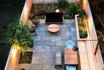 small back garden