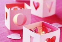 Valentine's day event ideas / Valentine's day dinner and dance decor ideas