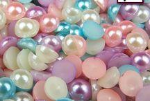 Rhinestones & Half Pearls