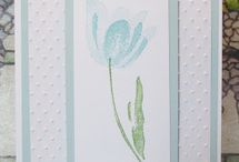 stampin up terrific tulips