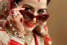 Catty eyes sunglasses / #Beautiful #bridal #with #catty #eye #sunglasses #Mehndi #red #Choora #portrait #time #fun #masti #enjoy #work #captured #by #ZARA #PHOTOGRAPHY