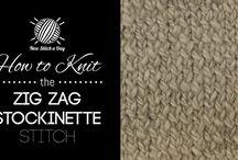 Knitting stitches :)