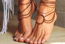 βραχιόλια  ποδιών