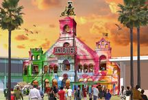 themepark illustrations