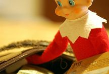 Elfcapades / Elf on the Shelf ideas / by Kathleen Coyne