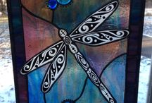 My Stained Glass Work / I'm a full time stained glass artist from Ohio... This is my work.