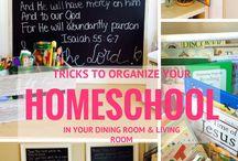 homeschool dinning room