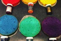 Rainbow caeks