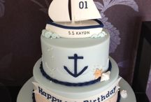 Sailboat / Sailing Cake Ideas / Sail away on seas of buttercream and waves of fondant with our top sailboat cakes.