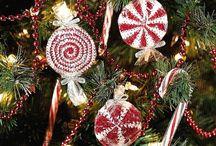 Weihnachten (gehäkelt) / Rund um Weihnachten gehäkeltes.........