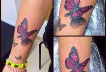 Kelebek dövmeleri