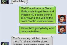 Super Hero Chat