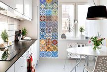 Portugese tiles stickers