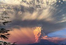 A Calbuco vulkán Chilében