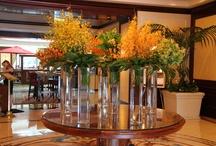 Hotel Flower Arrangements / Stunning flower arrangements at luxury hotels across the globe. / by Katie | lajollamom.com