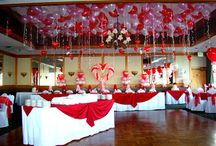 Valentine's Balloons and Decor