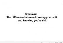 Grammar / by Gaurav Sharma