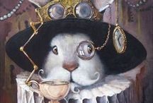Alice / Everything in this topsy-turvy world of Lewis Carroll