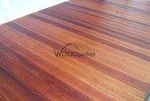 Dřevěná terasa Merbau @woodparket / #woodparket #realizace #terasy #zahrada #dřevo