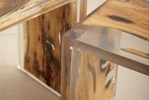 Resin + Wood
