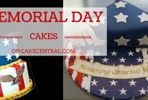 Memorial Day / Veterans Day Cakes / Amazing memorial day and veteran's day cakes, featuring flags, eagles, heroes and more.