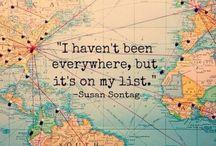 travel / inspiring