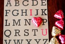 Valentine's Day Ideas / Show the ones you LOVE, your creative side this Valentine's Day!