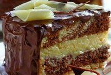 Bolos de aniversário de chocolate
