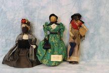 Vintage Folk Art Dolls