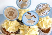 Blue Puppy Party / Puppy party ideas in blue