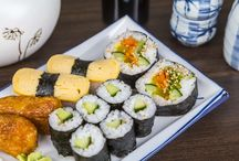 Sushia suurella sydämellä / foodoran valikoimista löytyy monen monta sushi-ravintolaa, valitse omasi ja tilaa kotiin osoitteesta www.foodora.fi