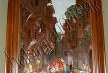 Ahşap Rölyef Galeri--wood rolyef gallery