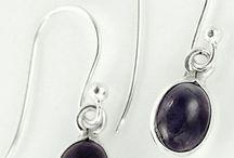 Semi Precious Stone Earrings UK