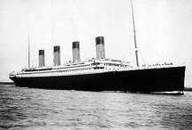 R. M. S. TITANIC / RMS Titanic was a British passenger liner that sank in the North Atlantic Ocean in the early morning of 15 April 1912 after colliding with an iceberg during her maiden voyage from Southampton, UK to New York City, US. The sinking resulted in the loss of more than 1,500 passengers and crew making it one of the deadliest commercial peacetime maritime disasters in modern history. The RMS Titanic, the largest ship afloat at the time it entered service, operated by the White Star Line / by Garry