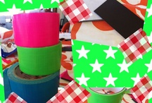 Duct Tape crafts / by Melissa Williams