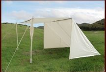 Stall shade tents