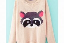 Cute sweaters and sweatshirts ♥♥♥