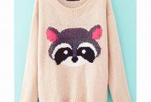 Cute sweaters and sweatshirts ♥♥♥