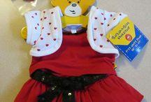 Sophie build a bear clothes