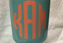 Powder coated cups
