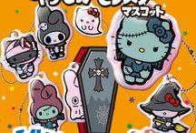 サンリオキャラクター「キラピカモンスターマスコット」 / http://www.re-ment.co.jp/products/sanrio_kirapikamonster/index.html