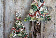 Hiasan Natal (pohon natal mini)
