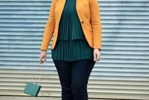 Curvy outfit style