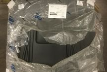 Ford Mustang Duraflex Spyder3 Hood / HOOD'S West Alton has a 2005-2009 Ford Mustang Duraflex Spyder3 Hood.  This hood is made of fiberglass and has a black primer finish.  It is ready for painting.