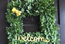 Wreaths / by Tammy S.