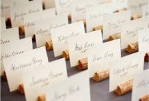 Szőlős esküvői dekor